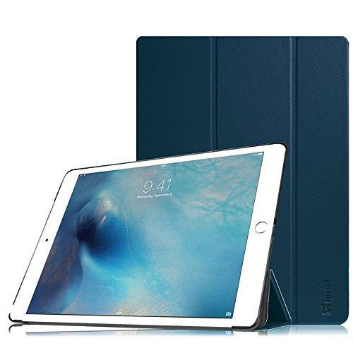 Fintie iPad Pro 12.9 Zoll Hülle - Ultra Schlank Superleicht Ständer Schutzhülle SmartShell Cover Case Tasche mit Auto Schlaf / Wach Funktion für Apple iPad Pro 12,9 Zoll (2015 Version), Marineblau