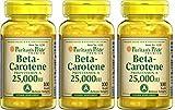 Beta-Carotin 25.000 IU 100 Perlen. (Packung 3U).
