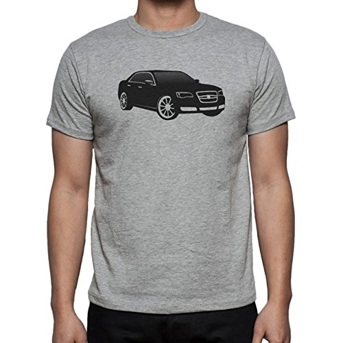 Car Vehicle Four Wheels Auto Black Limo Herren T-Shirt Grau