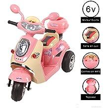 Vespa moto électrique 6 volts Cristom ® + connection mp3
