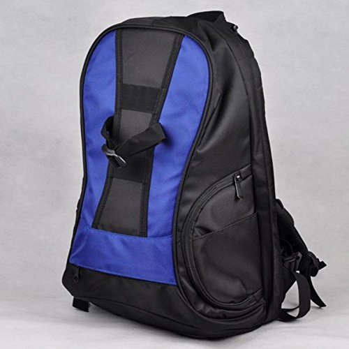 Antiurto impermeabile telecamera a spalla borsa zaino fotografia 48*29*22cm, nero Blue