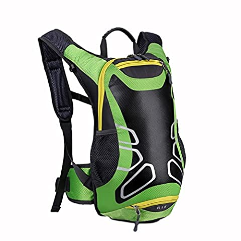 HOAEY Hiking Backpack Folding Handy Lightweight Backpack for Travel Climbing Cycling Running Camping Outdoor Sports 15L
