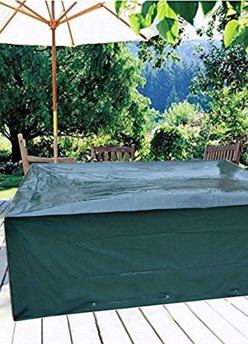 Schutzhülle für Gartenmöbel 200 x 160 x 70 cm Abdeckhaube Gartengarnitur