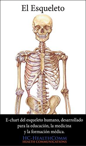El esqueleto humano, e-chart: E-chart del esqueleto humano, desarrollado para la educación, la medicina y la formación médica. (Spanish Edition)