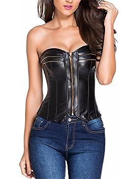 YALL La Mujer Corpiño Pu Recoger Abdomen Vest