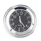 Amazingdeal365 Horloge en aluminium pour guidon de moto imperméable 17-20 cm