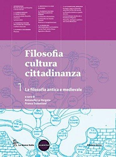 FILOSOFIA CULTURA CITTADINANZA