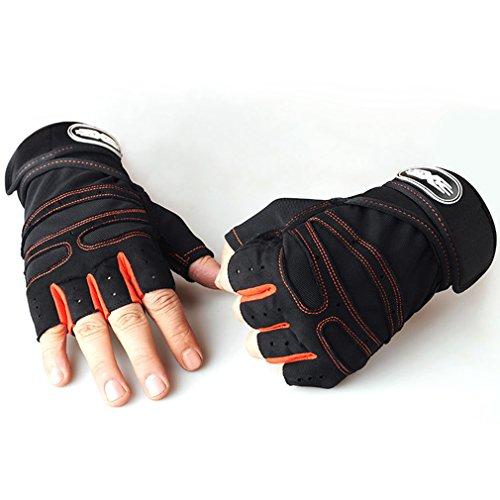 LnLyin Halb Knie Handschuh Training Taktische Handschuhe Herren Sport Fitness Handschuhe Halb Bezieht Outdoor Anti Rutsch Reithandschuhe
