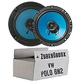 VW Polo 6N2 - Blaupunkt IC122 - 16cm Koax 2-Wege Lautsprecher - Einbauset