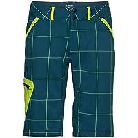 VAUDE Men 's Craggy Pantalones Cortos, Primavera/Verano, Hombre, Color Verde Oscuro, tamaño Extra-Large