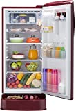 LG 190 L 4 Star Direct Cool Single Door Refrigerator(GL-D201ARGX.ARGZEBN, Ruby Glow, Base Stand with Drawer,Smart Inverter Compressor)