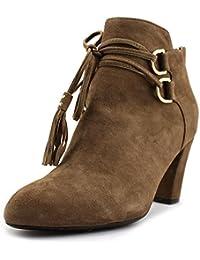 2f20d27188a9 Taryn Rose Womens Trisha Suede Closed Toe Ankle Fashion Boots