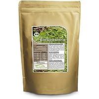 Nurafit Spirulina BIO Pulver | Vegan Green-Smoothie Pulver | Superfood Alge in Rohkostqualität | 1000g / 1kg preisvergleich bei billige-tabletten.eu
