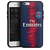 DeinDesign Apple iPhone 6 Coque en Silicone Étui Silicone Coque Souple Paris Saint Germain Produit sous Licence Officielle Maillot PSG