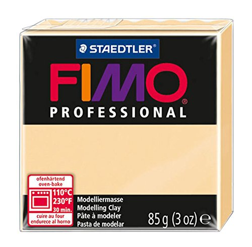 Staedtler 8004-02 Fimo Professional Normalblock, 85 g, champagner