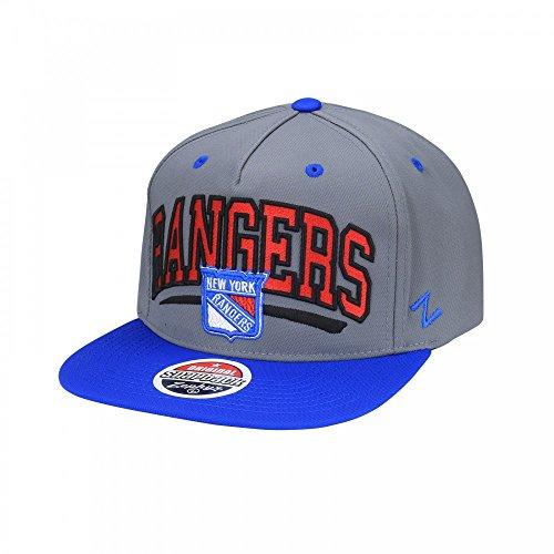 Zephyr Nhl Hut (Zephyr NHL New York Rangers Phenom Snapback Cap)