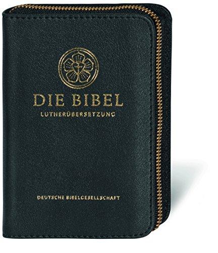 Lutherbibel - Senfkornausgabe Premium: Die Bibel nach Martin Luthers Übersetzung; mit Apokryphen; Lederausgabe mit Goldschnitt, Reißverschluss und Schutzschuber