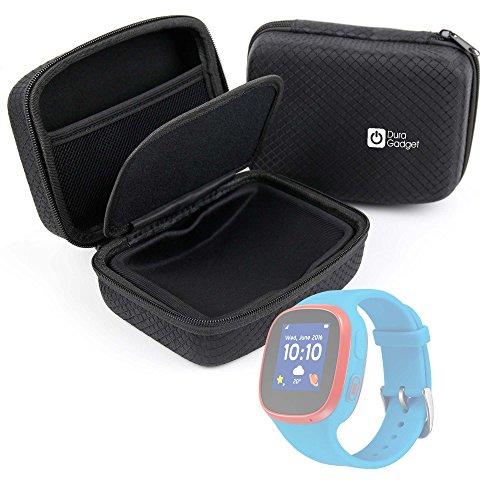 DURAGADGET Custodia Rigida per Smartwatch Alcatel MOVETIME Family Watch (MT 30) | Suunto Spartan Trainer - con Tasca Interna