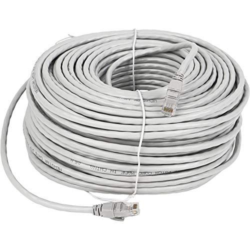 Lknewtrend Cat6 Ethernet Patchkabel - UTP 550 MHz RJ45 Netzwerk Internet Kabel für Computer, PoE Kamera, Router, Modem, Switch - 550mhz Kategorie-6-patchkabel
