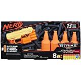 Nerf Alpha Strike Fang QS-4 Targeting Set, 13-Piece Set Includes Toy Blaster, 4 Half-Targets, and 8 Official Nerf Elite Darts, For Kids Ages 8 And Up