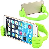 Voltac Universal Funny Cute Flexible Portable Mount Cradle Thumb Ok Designed Stand Holder For Apple IPad Mini, IPhone, Smartphones And Android Mobile Phones And Tablets Model 357466