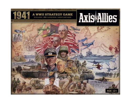 Wizards of the Coast 39687 Axis & Allies 1941 - Juego de mesa sobre gu