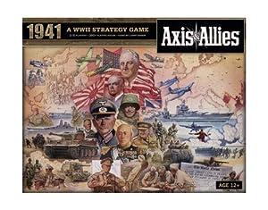 Wizards of the Coast 39687 Axis & Allies 1941 - Juego de Mesa sobre Guerra Entre Eje y Aliados