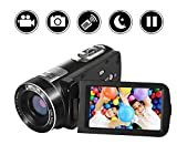 Camcorder Kamera Full HD 1080p Videokamera 24.0MP 18x Digitalzoom 3.0""