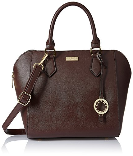 Cathy London Women\'s Handbag, Colour- Brown, Material- Synthetic Leather