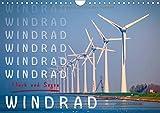 Windrad - Fluch und Segen (Wandkalender 2018 DIN A4 quer): Inzwischen überall zu sehen, Windräder und Windparks. (Monatskalender, 14 Seiten ) (CALVENDO Technologie)