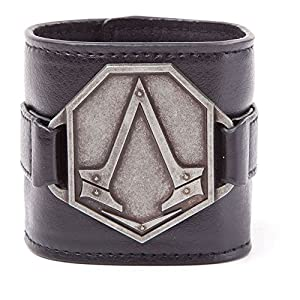 Assassin's Creed Syndicate Armband Metall Logo Pat