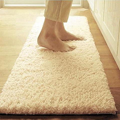 Tappetini tappetino porta il piede nella porta mat camera da letto bagno porta il tappetino di assorbimento di acqua di base antiscivolo wc kitchen pad ,60cm x 200cm,