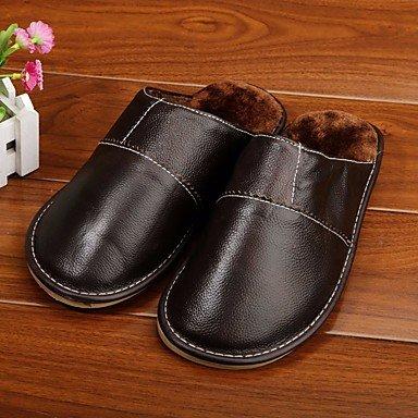 Stivali inverno delle donnecasuali zeppa piuma Heel PU sandali US8.5-9 / EU41 / UK7.5-8 / CN42