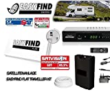 Selfsat EasyFind Digital Traveller Kit Full HD High End mobile Camping Satellitenanlage (Komplett-Set inkl. HDTV Receiver Micro M310plus)