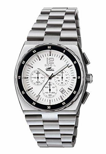 Breil Orologio Cronografo Quarzo Uomo con Cinturino in Acciaio Inox TW1541