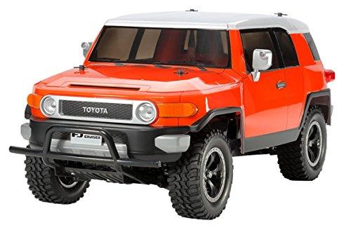 Tamiya 1:10 RC Car Toyota FJ Cruiser Orange (CC-01)