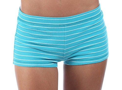 abercrombie-fitch-womens-yoga-shorts-turqoise-striped