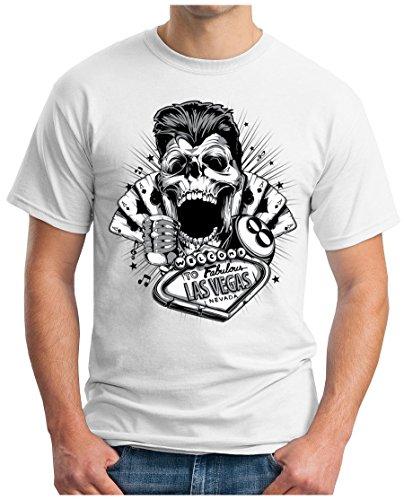 OM3 - PLAYERS-DEATH - T-Shirt GEEK, S - 5XL Weiß