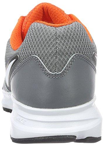 Nike Downshifter 6, Entraînement de course homme Gris (Cl Gry/Mtlc Pltnm/Tm Orng/Whit)