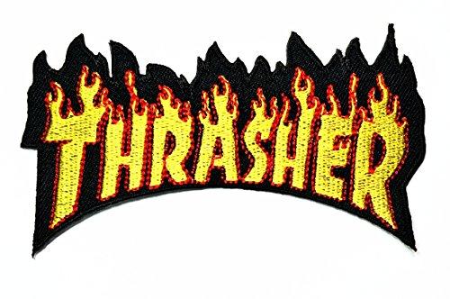 Magazine Musik Band Heavy Metal Punk Rock Logo Eisen auf Sew auf Patch Jacke T-Shirt Patch Sew Iron on gesticktes Symbol Badge Reinigungstuch Schild Kostüm ()