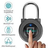 smart fingerprint lock Door lock,Lucchetto Per Impronte Digitali Portatile Nessuna Password...