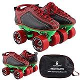 #7: Quad Skate With Hyper R2 Red Wheel & Green Frame