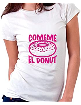 Factor RS Comeme el Donut - by Camiseta Mujer