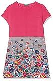 United Colors of Benetton Mädchen Kleid Dress, Rosa (Pink 911), 134 (Herstellergröße: L)