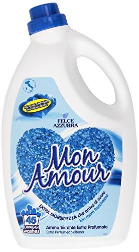 Mon Amour Weichspüler Extra parfümiert blau Meer Frische–Packung von 1x 3000ml–insgesamt: 3000ml