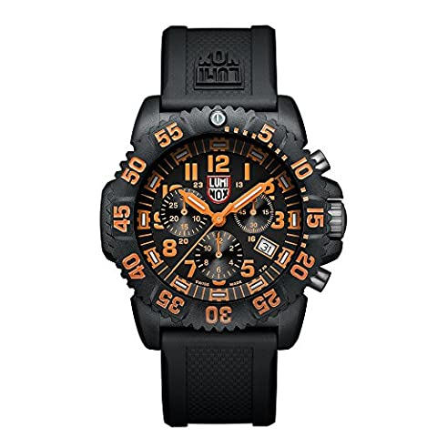 Luminox Navy SEAL Colormark Chronograph Men's Quartz watch with Black