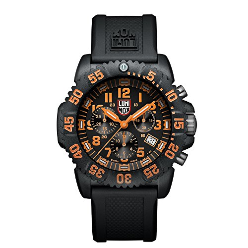 Luminox Navy SEAL Colormark Herren-Armbanduhr Chronograph Quarz Plastik - XS.3089 (Uhr Seal Navy)