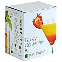 Plant Theatre Boozy Gardeners Kit - 6 Varieties to Grow - Great Gift Idea
