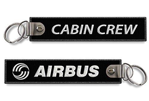 airbus-cabina-portachiavi-nero