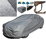 A-Express M Mittel Universal Car-Cover 100% Wasserdicht Wetterschutz